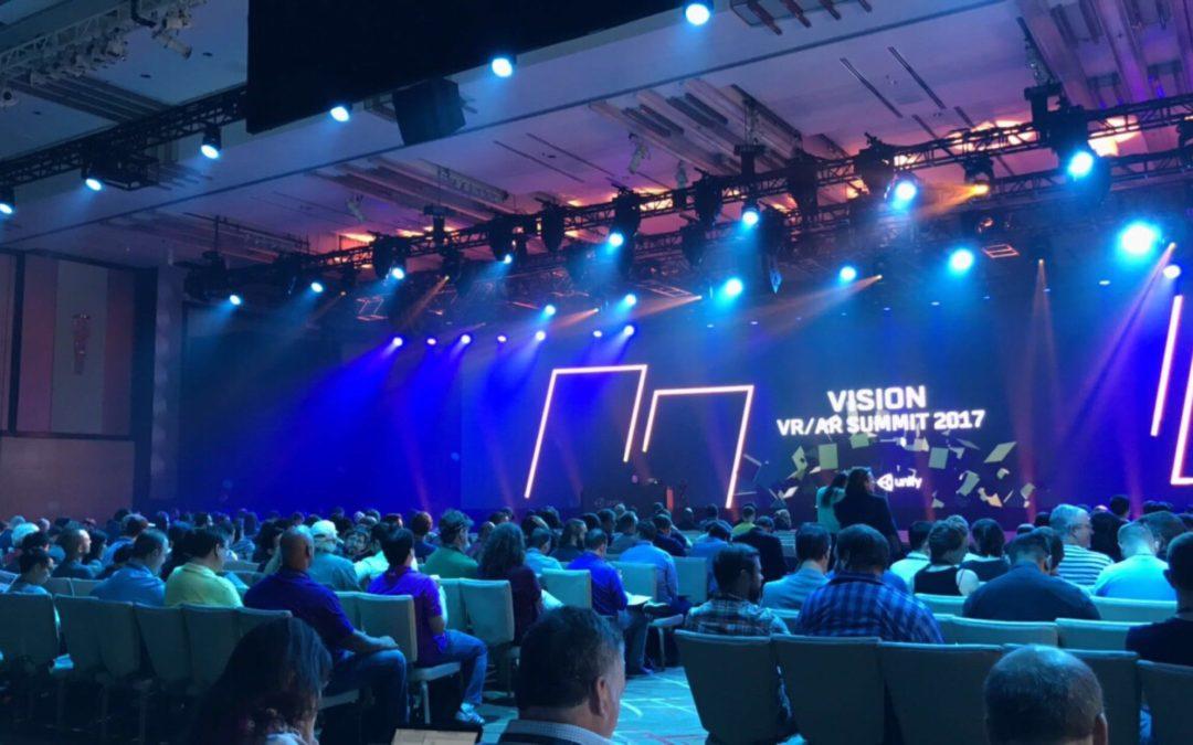 EVENT RECAP: Unity Vision VR/AR Summit 2017